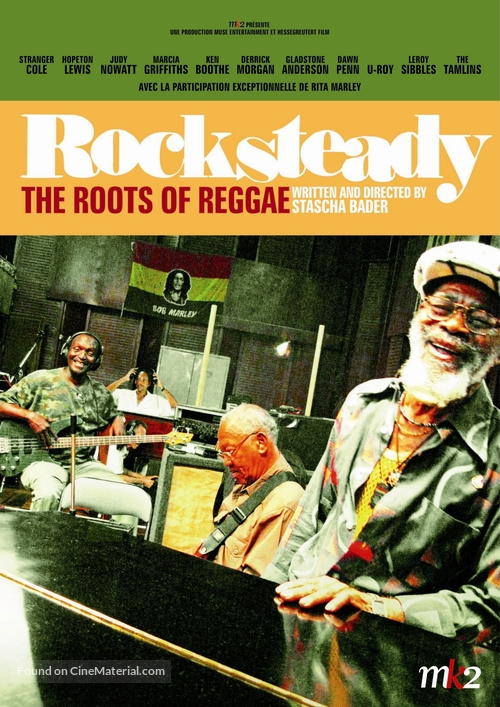 Rocksteady: The Roots of Reggae - French Movie Poster