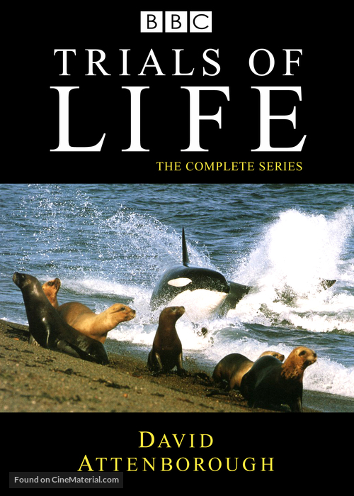 """The Trials of Life"" - DVD cover"