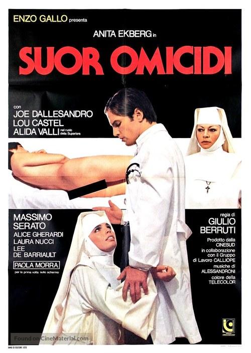 Suor Omicidi - Italian Movie Poster