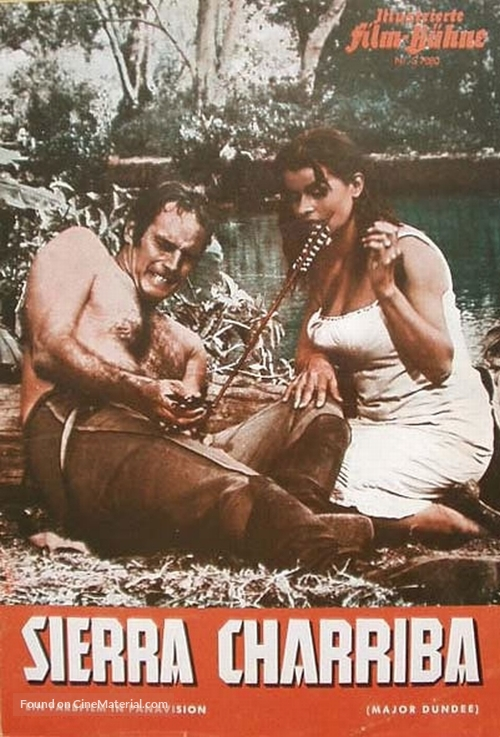 Major Dundee - Austrian Movie Poster
