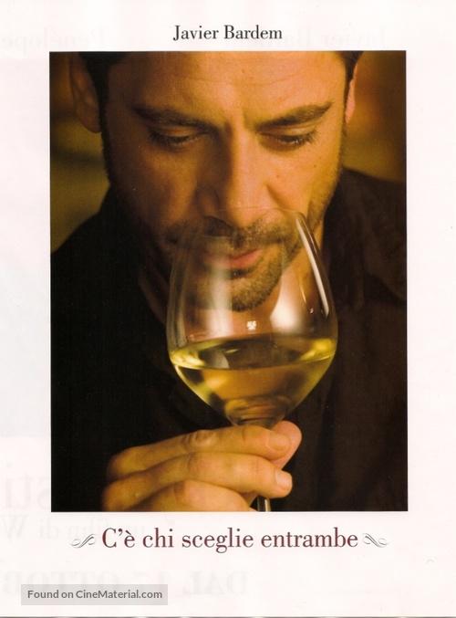 Vicky Cristina Barcelona - Italian Movie Poster