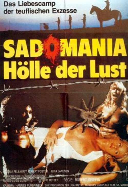 Sadomania - Hölle der Lust - German Movie Poster