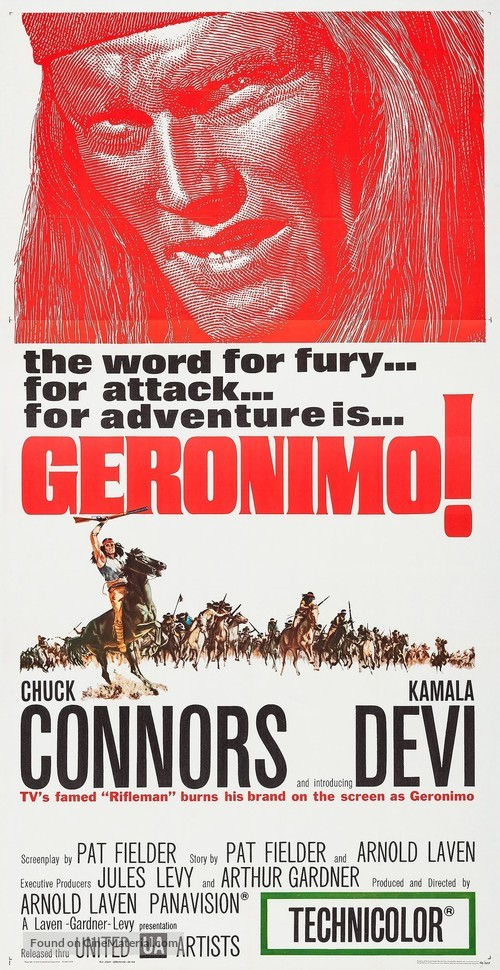 Geronimo - Movie Poster