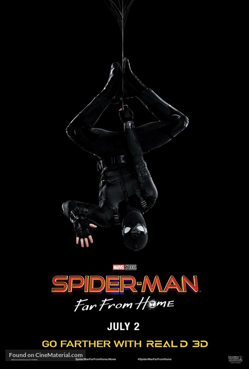 Spider-Man: Far From Home - Movie Poster