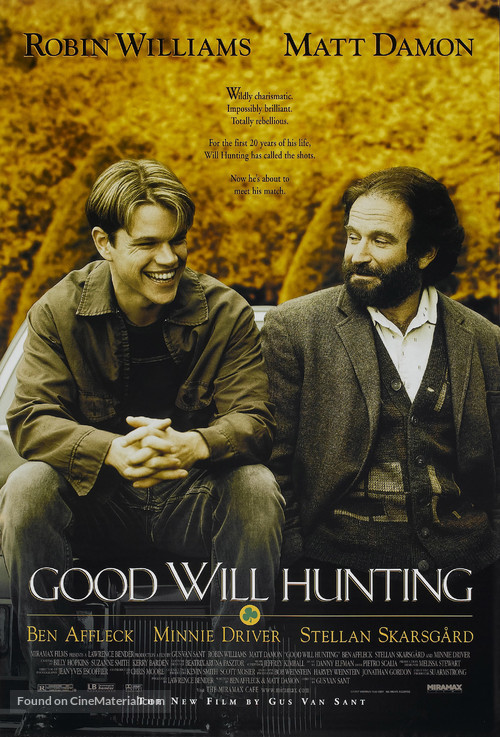 Good Will Hunting - Movie Poster