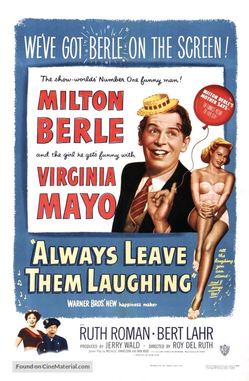 Always Leave Them Laughing - Movie Poster