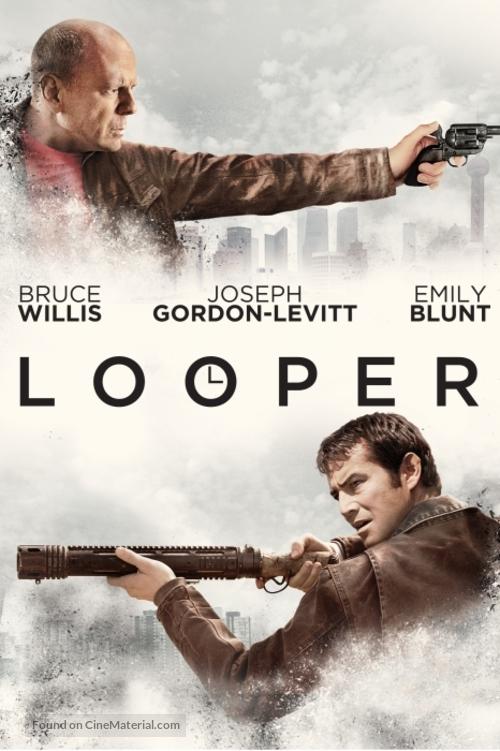 Looper - DVD movie cover