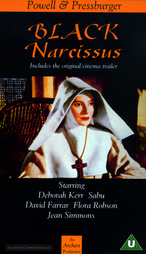 Black Narcissus - British Movie Cover