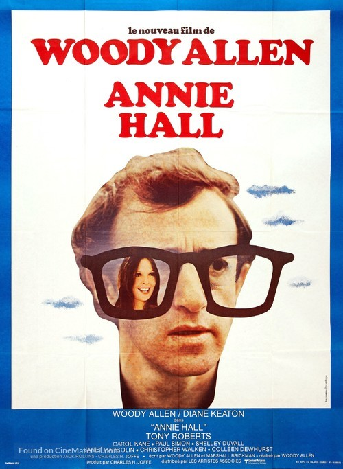 Annie Hall - French Movie Poster