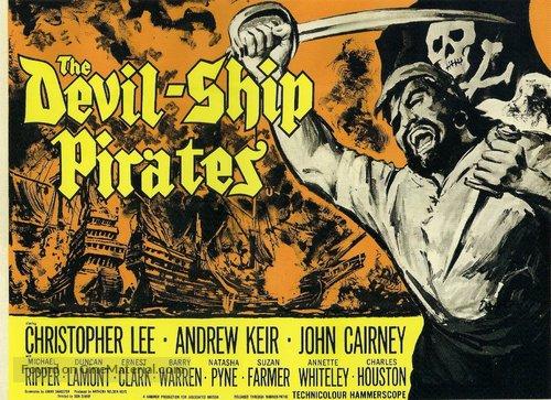 The Devil-Ship Pirates - British Movie Poster