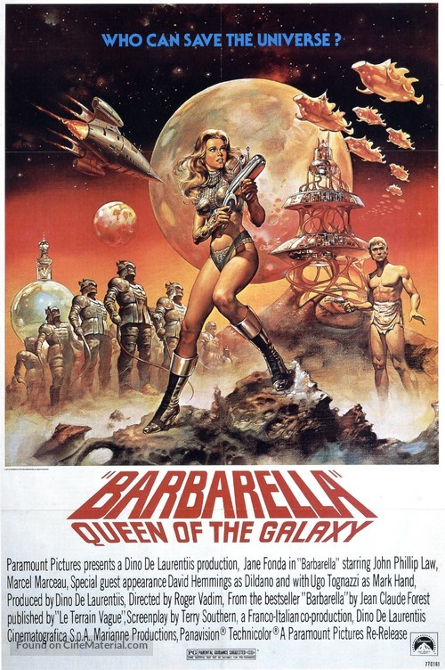 Barbarella - Movie Poster