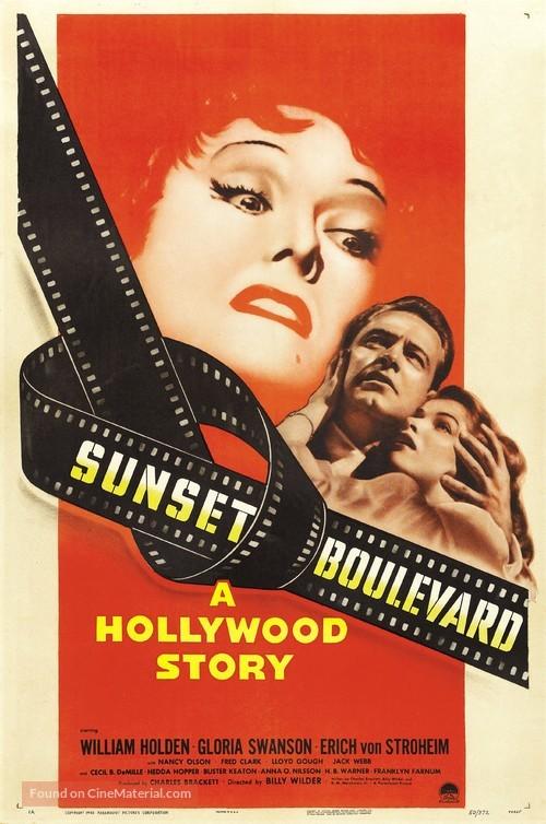 Sunset Blvd. - Movie Poster