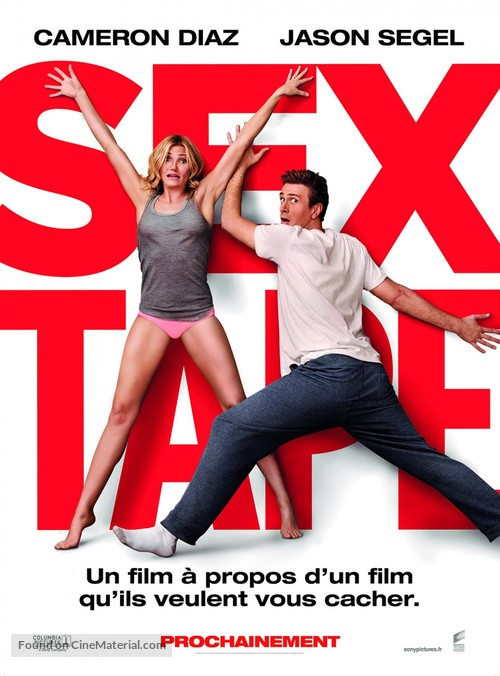 Sex Tape - French Movie Poster