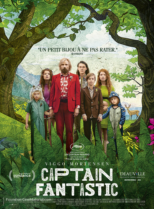 Captain Fantastic - French Movie Poster