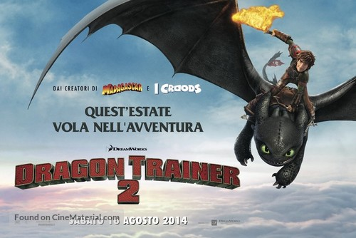 How to Train Your Dragon 2 - Italian Movie Poster