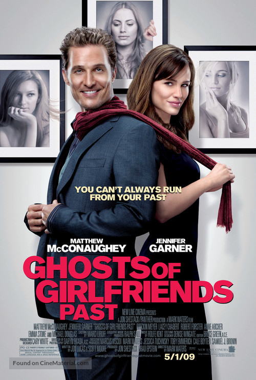 Ghosts of Girlfriends Past - Movie Poster