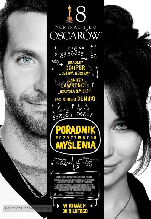 Silver Linings Playbook - Polish Movie Poster