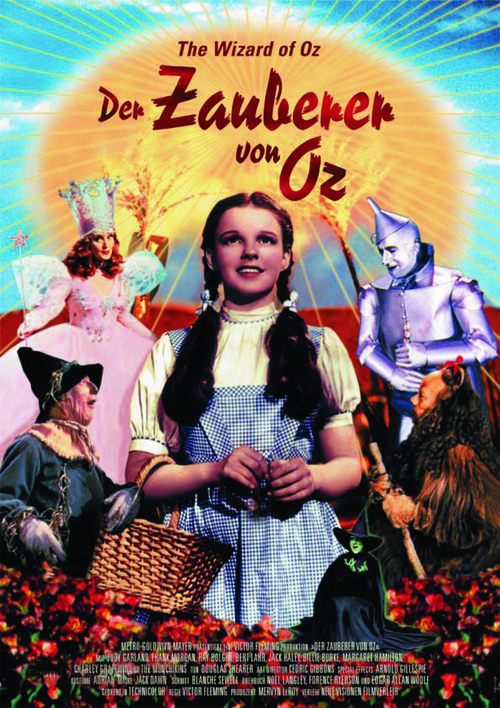 The Wizard of Oz - German Movie Poster