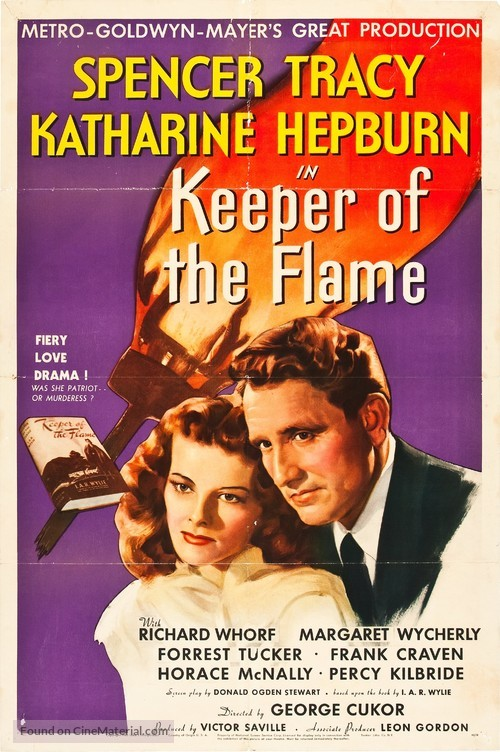 Keeper of the Flame - Movie Poster