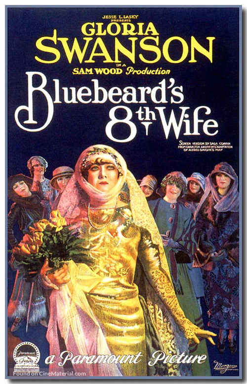 Bluebeard's Eighth Wife - Movie Poster