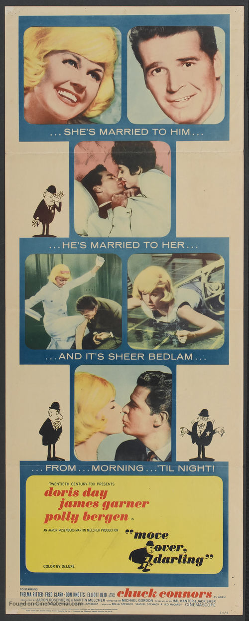 Move Over, Darling - Movie Poster