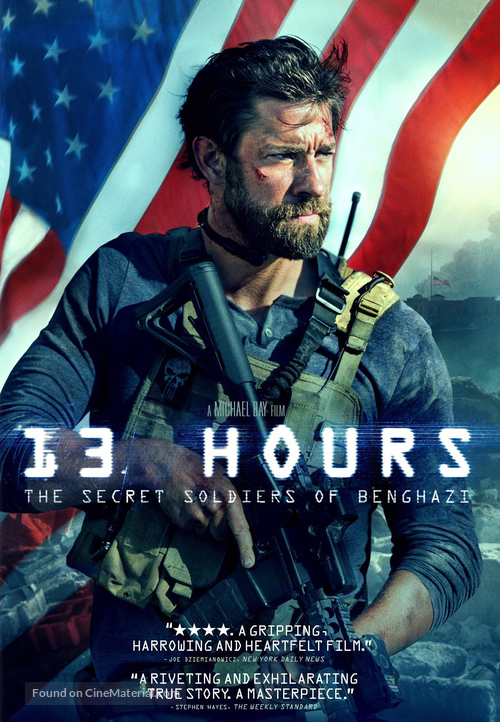 13 Hours: The Secret Soldiers of Benghazi - Movie Cover
