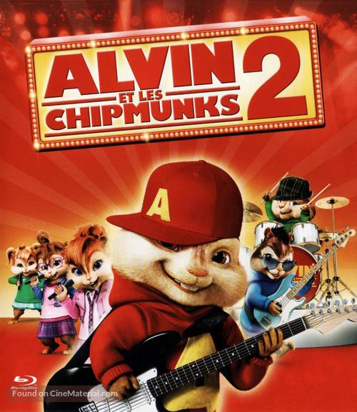alvin and the chipmunks the squeakquel french movie cover
