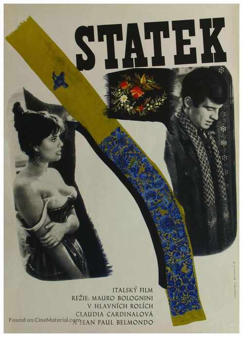 La viaccia - Czech Movie Poster