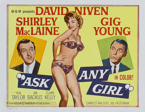Ask Any Girl - Movie Poster