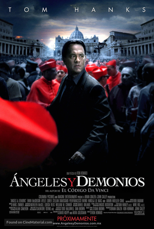 Angels & Demons - Mexican Movie Poster