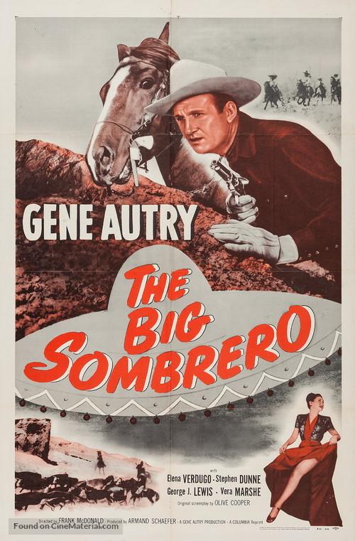 The Big Sombrero - Re-release movie poster