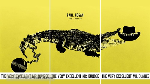 The Very Excellent Mr Dundee 2020 Australian Movie Poster