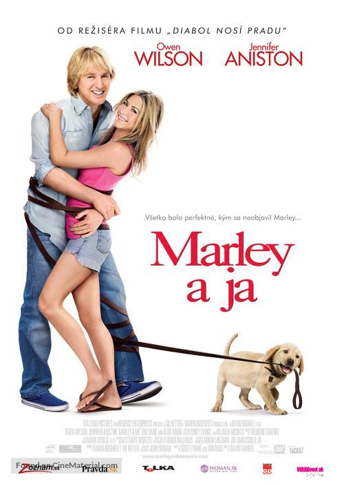 Marley & Me - Slovak Movie Poster