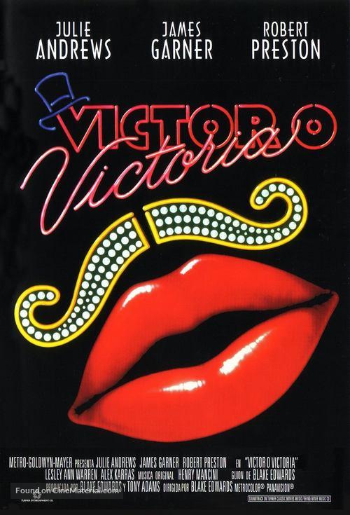 Victor/Victoria - Spanish Movie Poster