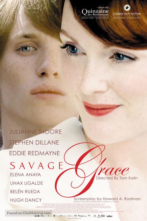 Savage Grace - Swiss poster