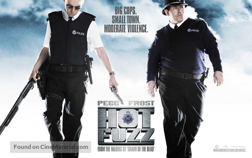 Hot Fuzz - British Movie Poster