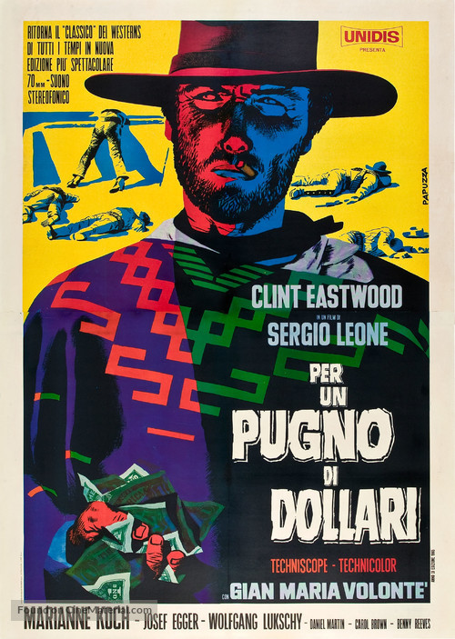 Per un pugno di dollari - Italian Movie Poster