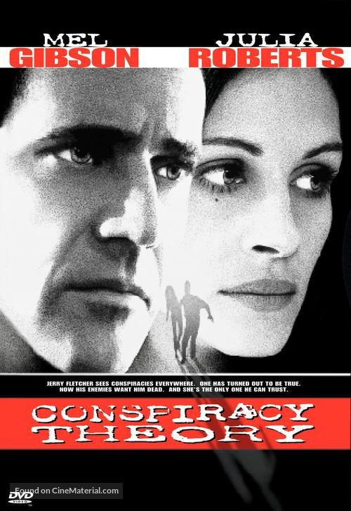 Conspiracy Theory - DVD movie cover