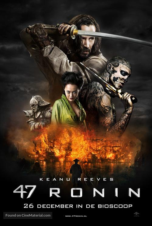 47 Ronin - Dutch Movie Poster