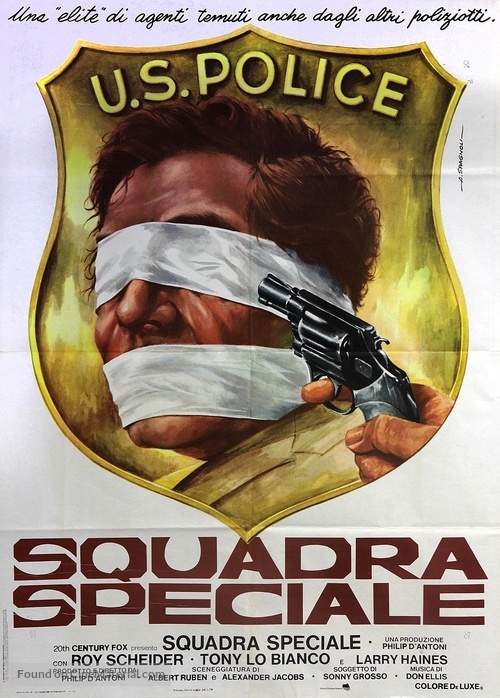 The Seven-Ups - Italian Movie Poster