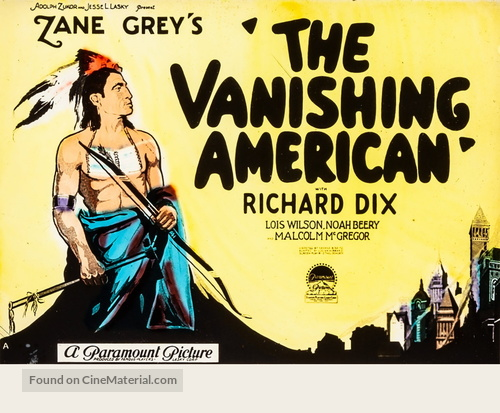 The Vanishing American - poster