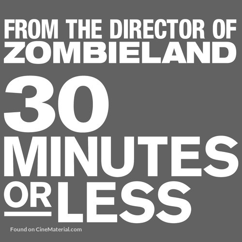 30 Minutes or Less - Logo