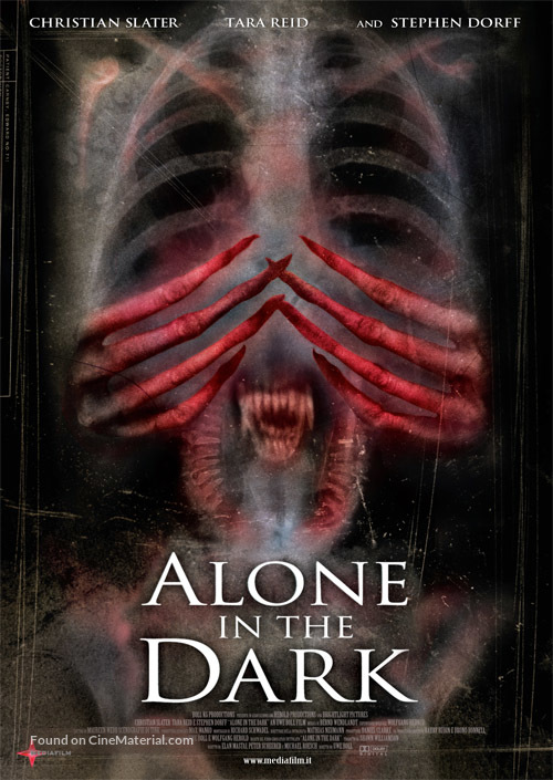 Alone In The Dark 2005 Italian Movie Poster