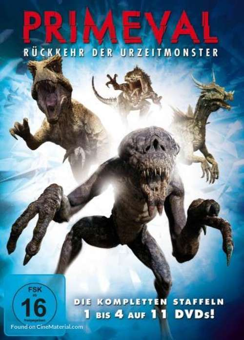 """Primeval"" - German DVD movie cover"