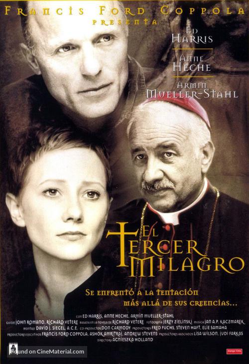 The Third Miracle - Spanish Movie Poster