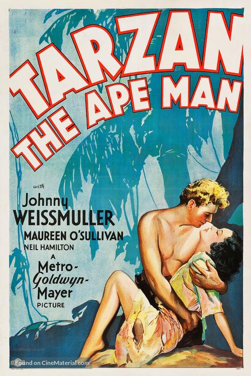 Tarzan the Ape Man - Movie Poster