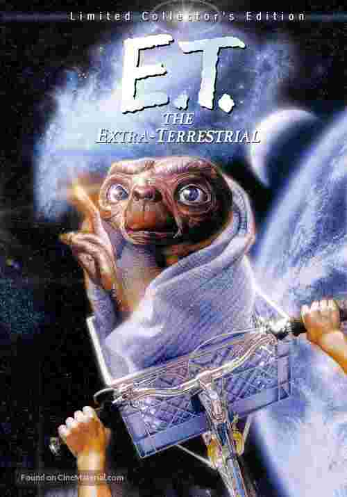 E.T.: The Extra-Terrestrial - Movie Cover