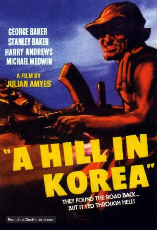 A Hill in Korea - British Movie Poster