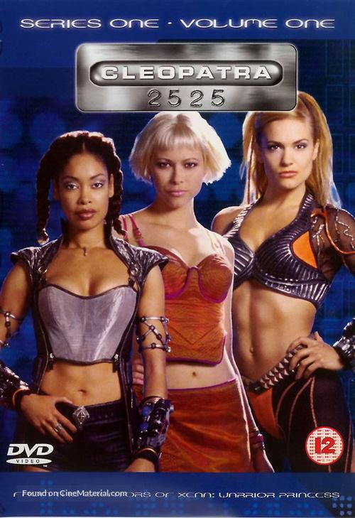 """Cleopatra 2525"" - British DVD movie cover"