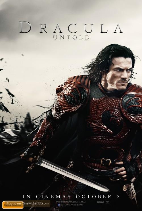 Dracula Untold - Australian Movie Poster